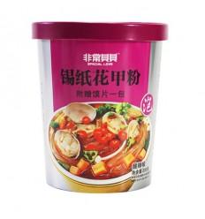 (红)非常贝贝*锡纸花甲粉*麻辣味 206g noodles