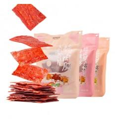 三只松鼠*猪肉脯自然片*香辣味 150g szss snacks