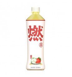 (白)元气森林*燃茶*无糖桃香乌龙茶 500ml Qi drink