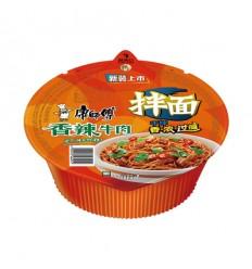 康师傅*干拌面*香辣牛肉味 127g Instant noodles