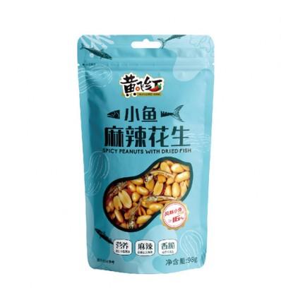 黄飞红*小鱼麻辣花生 98g peanut
