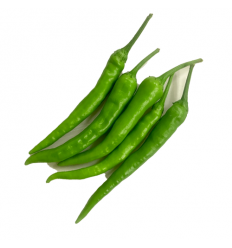 有机长青辣椒(中辣)Green Chili 200g
