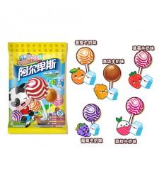 阿尔卑斯*棒棒糖*高级牛奶味*20支 200g lollipop