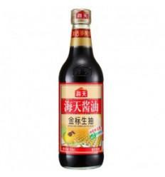 海天金标生抽500ml装 soy-bean sauce 酿造酱油