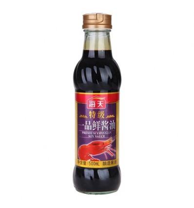 海天特级一品鲜酱油500ml soy-bean sauce 酿造酱油