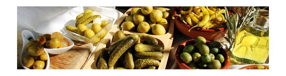 西班牙腌制蔬果